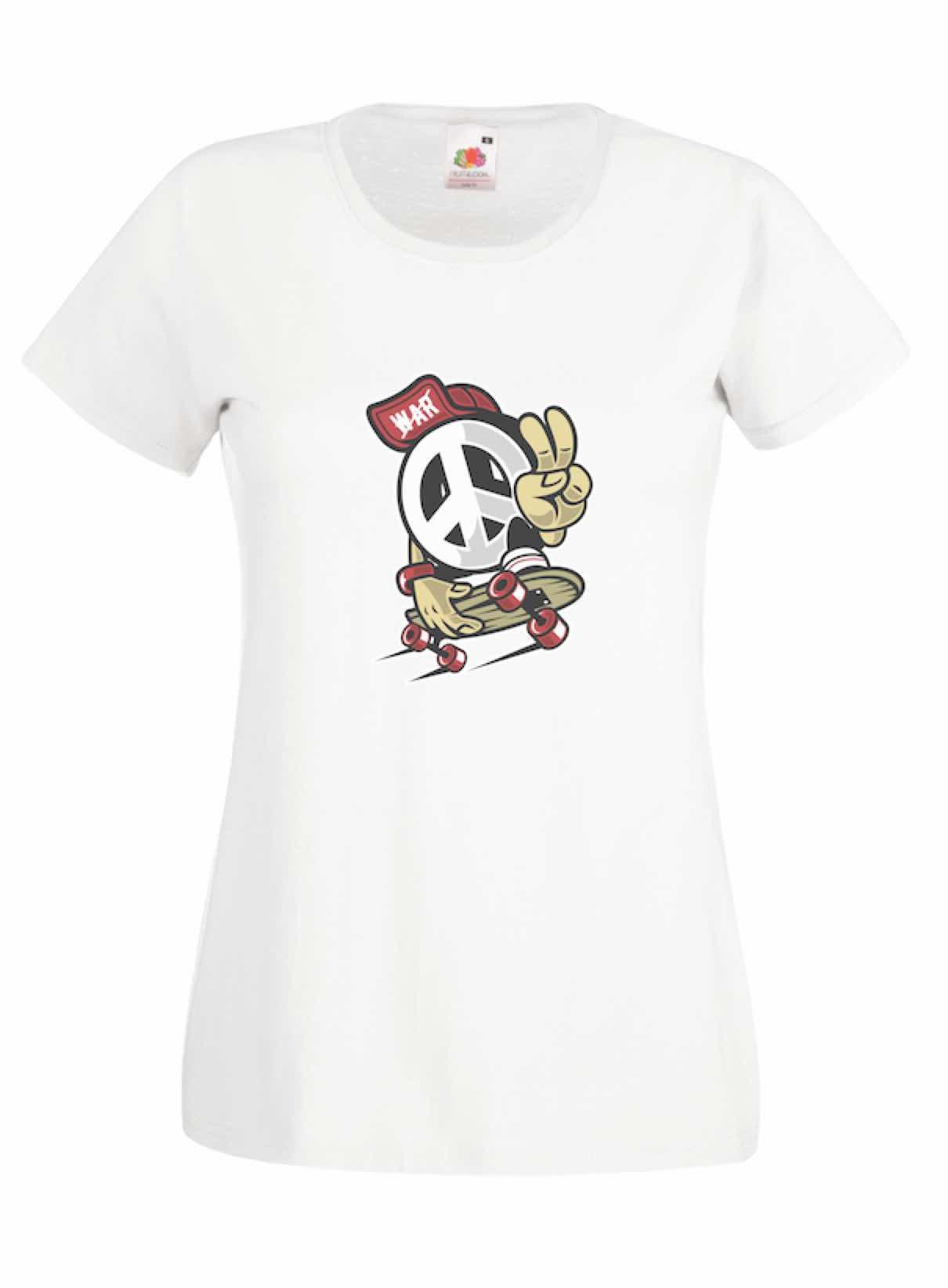 Peace Skate design for t-shirt, hoodie & sweatshirt