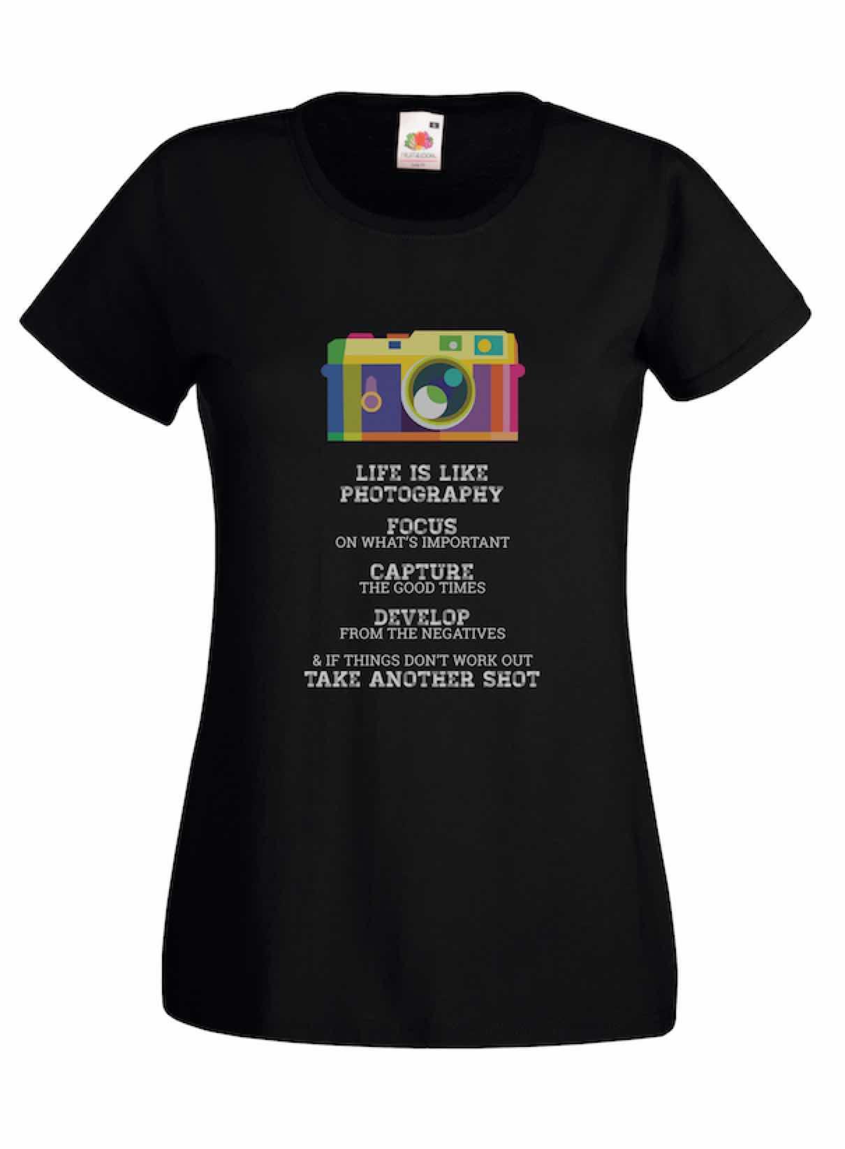 Photography Life design for t-shirt, hoodie & sweatshirt