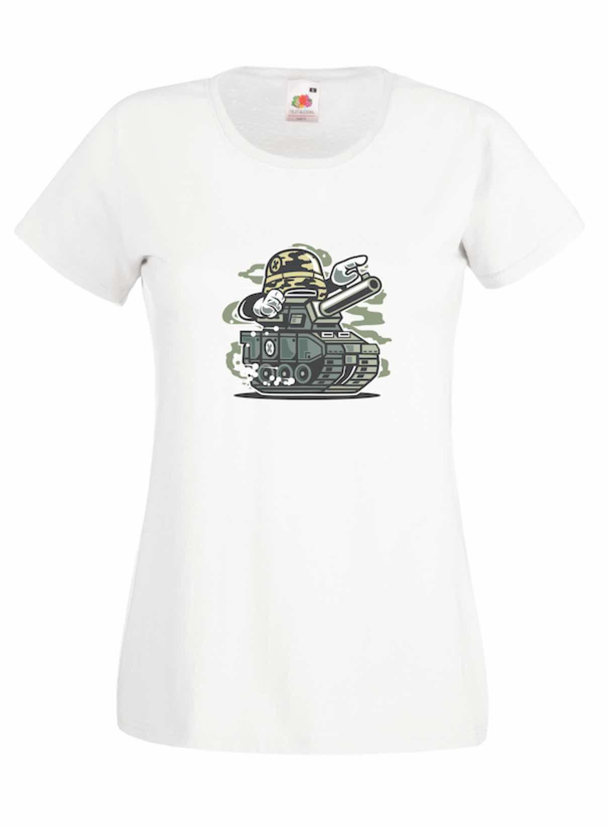 War Tank design for t-shirt, hoodie & sweatshirt