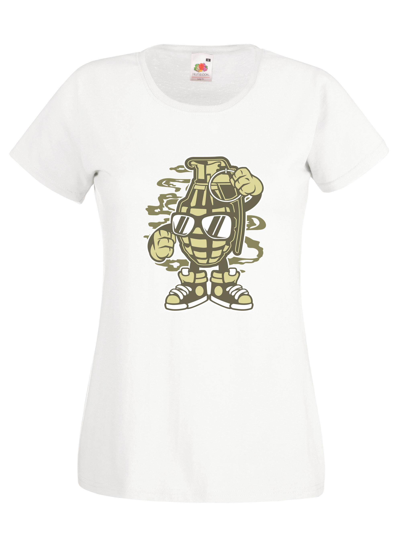 Grenade design for t-shirt, hoodie & sweatshirt