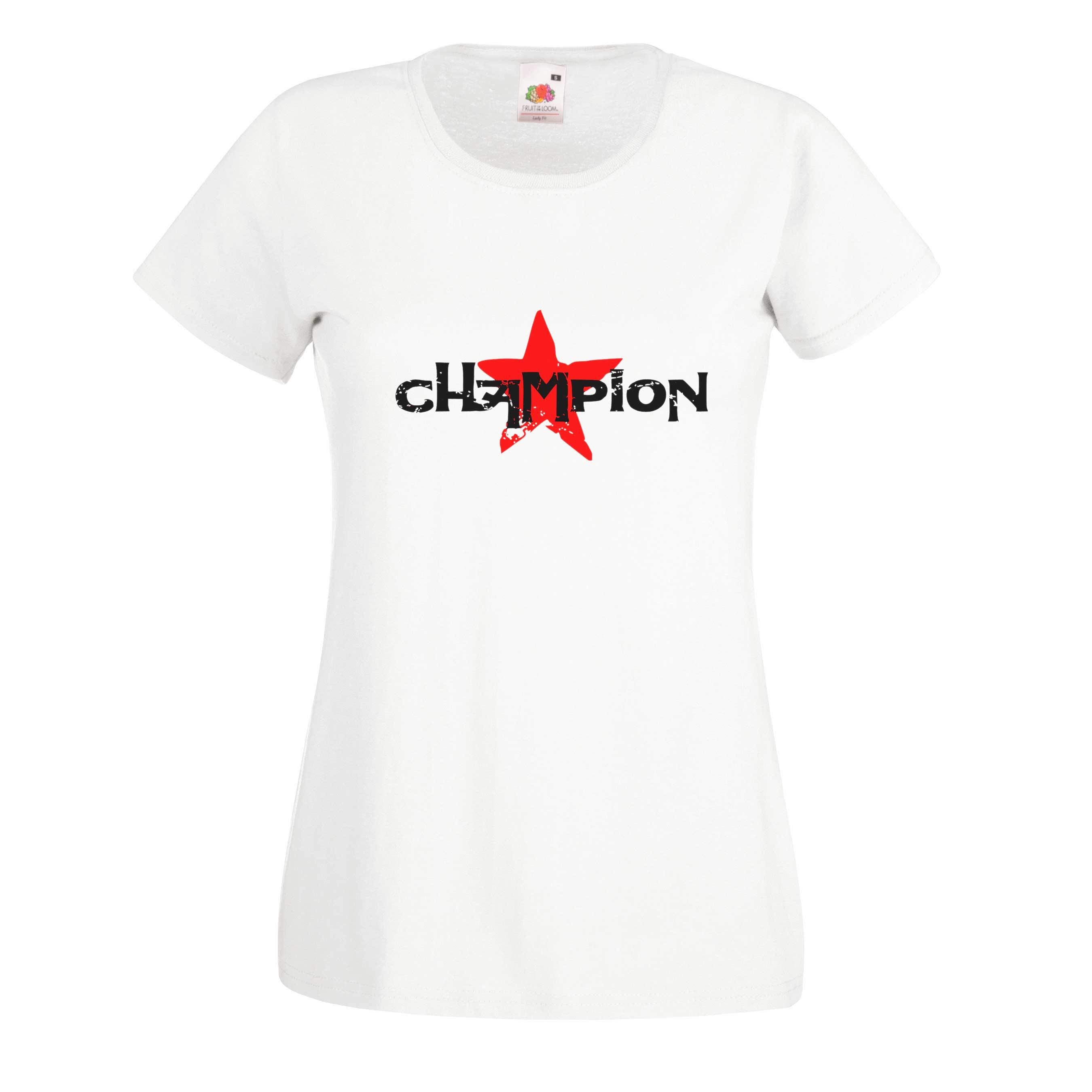 Champion design for t-shirt, hoodie & sweatshirt