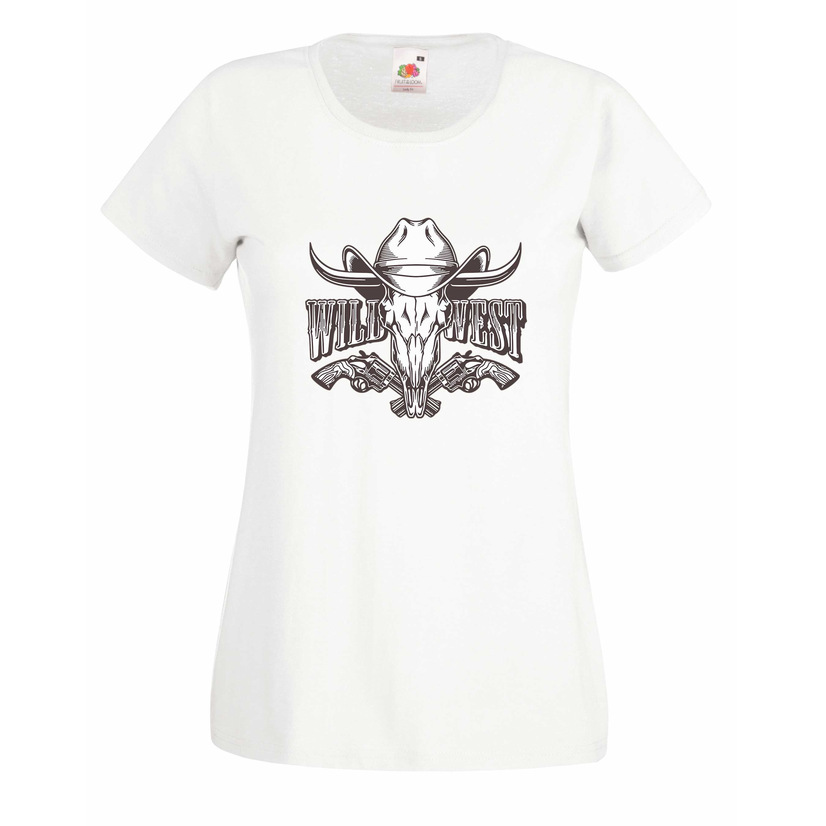 Wild West design for t-shirt, hoodie & sweatshirt