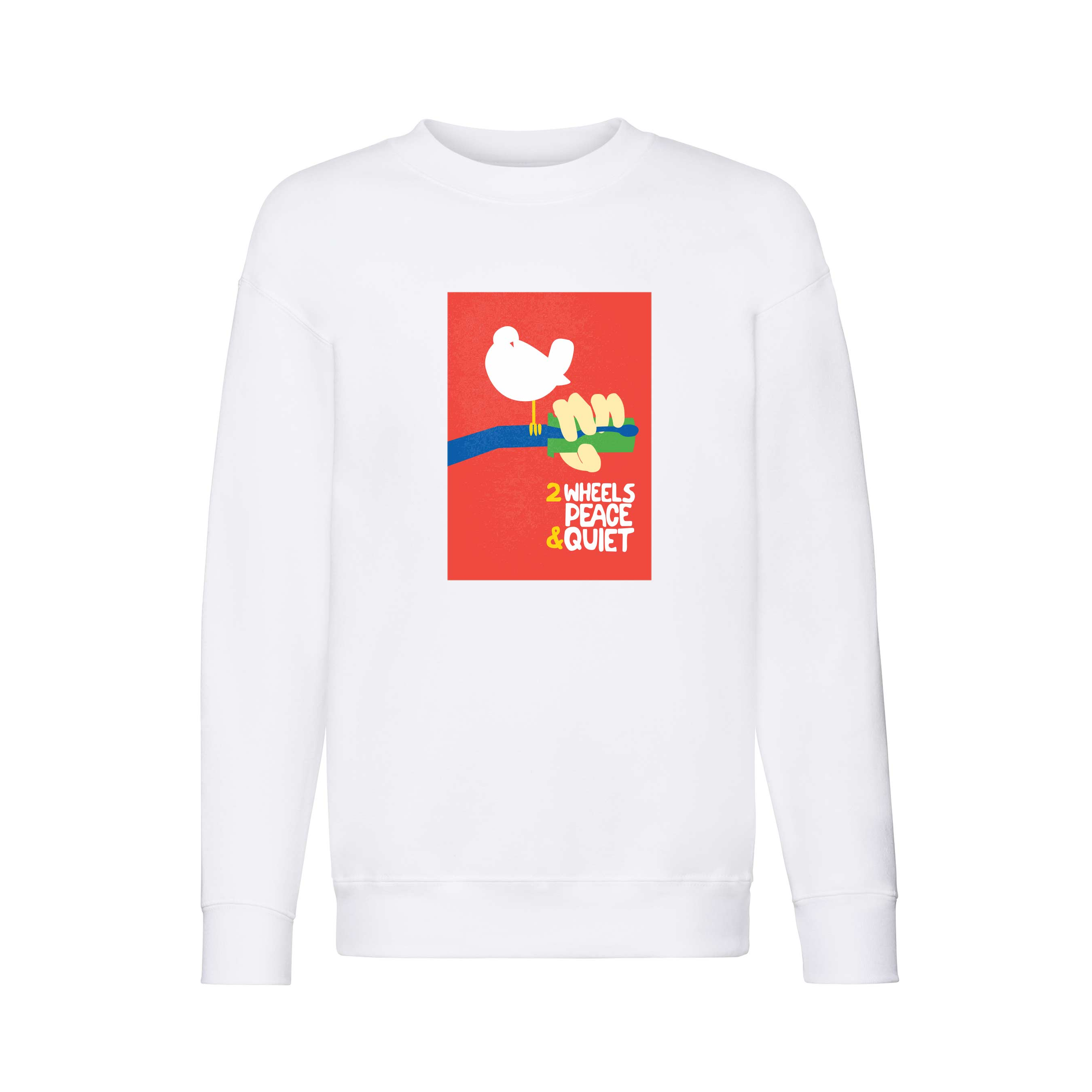 2 Wheels Peace design for t-shirt, hoodie & sweatshirt