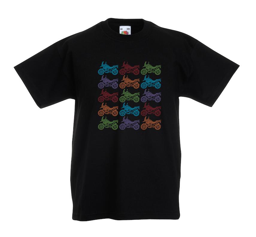Bike Pattern design for t-shirt, hoodie & sweatshirt