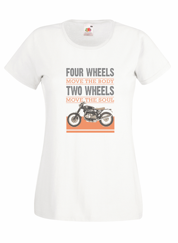 Four Wheels design for t-shirt, hoodie & sweatshirt