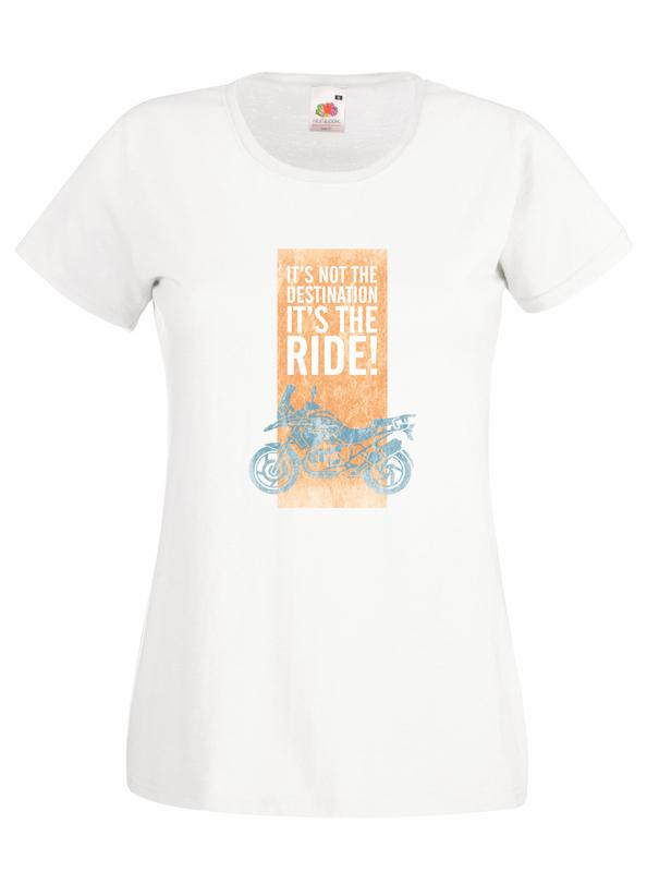 It's Not The Destination design for t-shirt, hoodie & sweatshirt