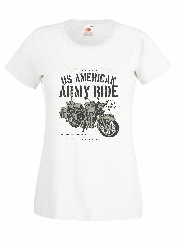 Army Ride Motorcycle design for t-shirt, hoodie & sweatshirt