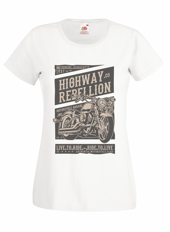 Highway Rebellion design for t-shirt, hoodie & sweatshirt