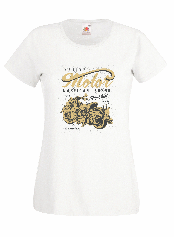 Native Motorcycle design for t-shirt, hoodie & sweatshirt