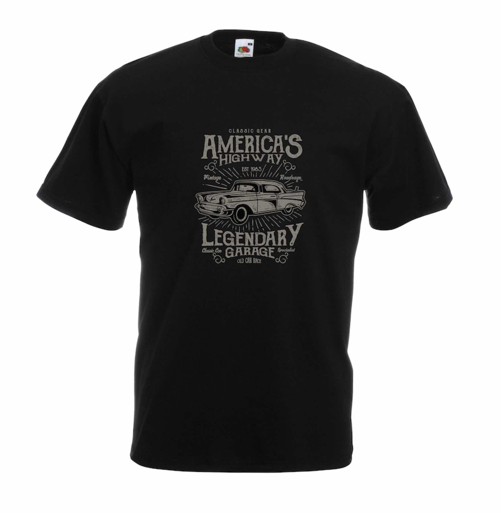 America's Highway design for t-shirt, hoodie & sweatshirt