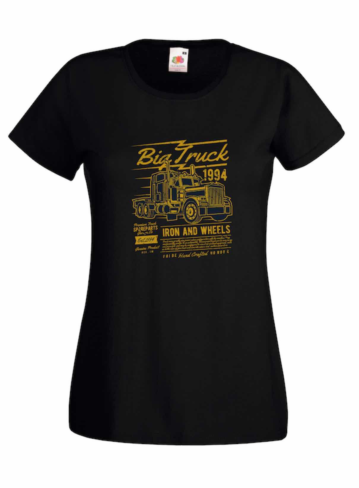 Big Truck design for t-shirt, hoodie & sweatshirt