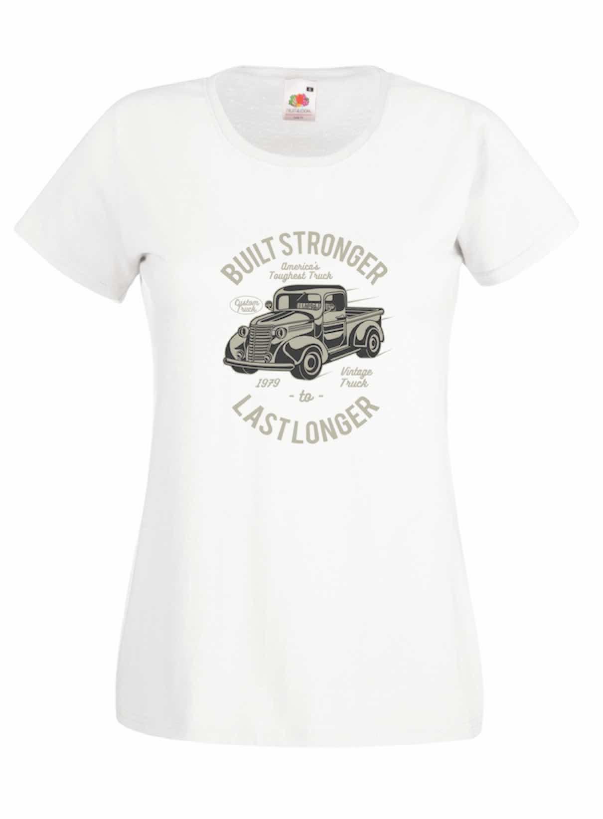 Built Stronger design for t-shirt, hoodie & sweatshirt