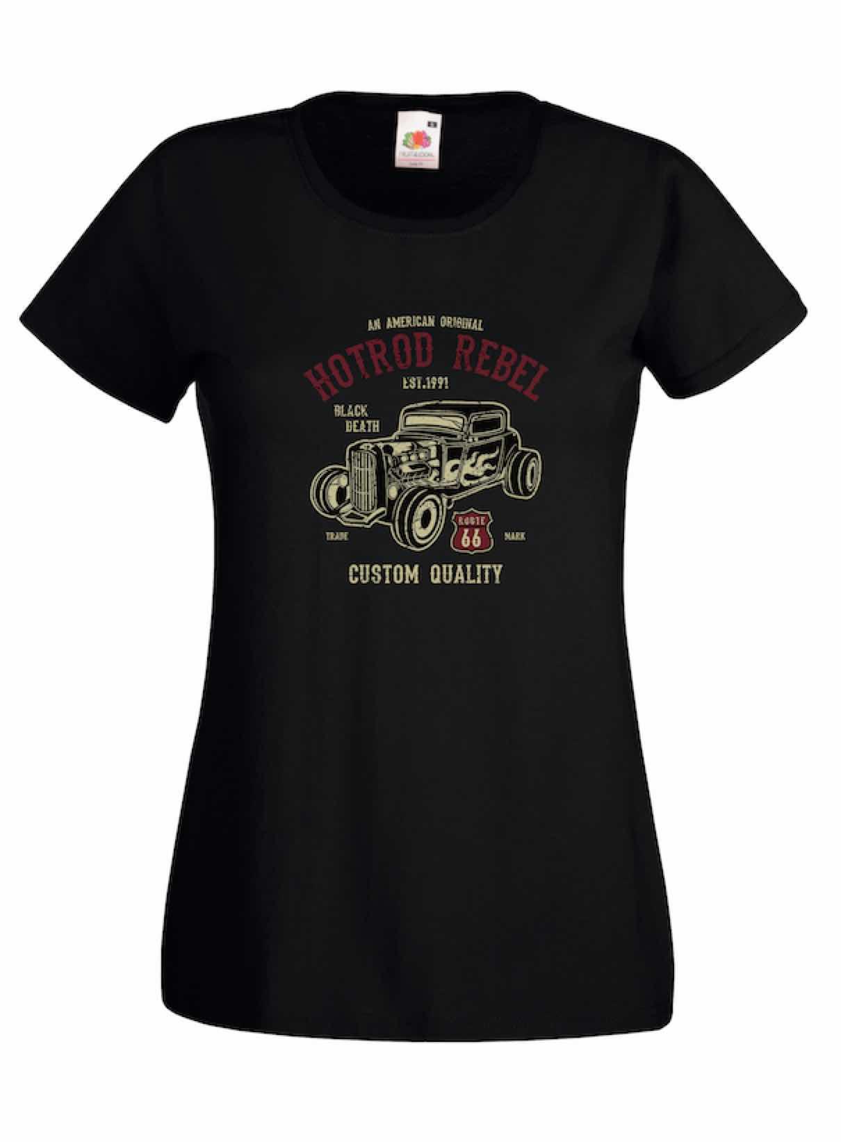 Hot Rod Rebel design for t-shirt, hoodie & sweatshirt