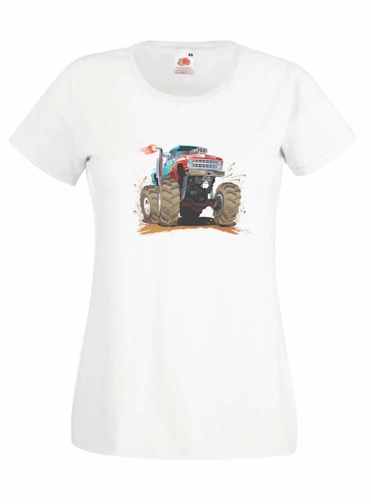 Hot Truck design for t-shirt, hoodie & sweatshirt