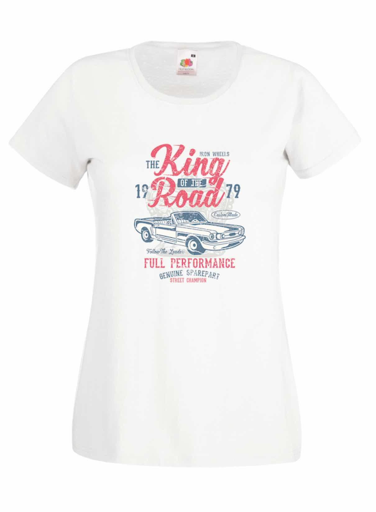 King Of The Road design for t-shirt, hoodie & sweatshirt