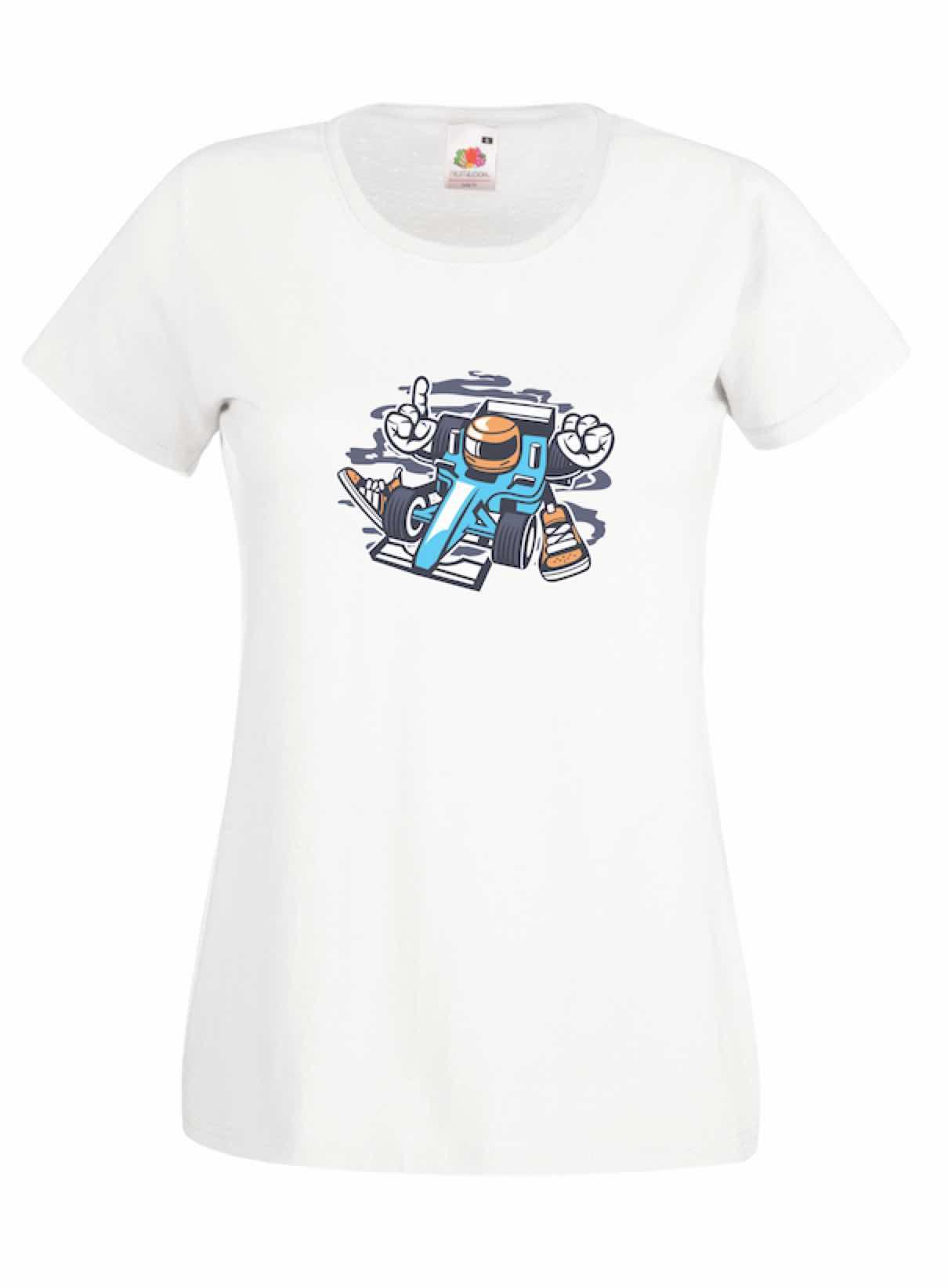Racer design for t-shirt, hoodie & sweatshirt