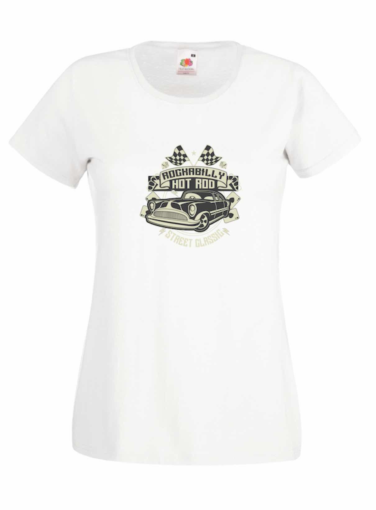 Rockabilly Hotrod design for t-shirt, hoodie & sweatshirt