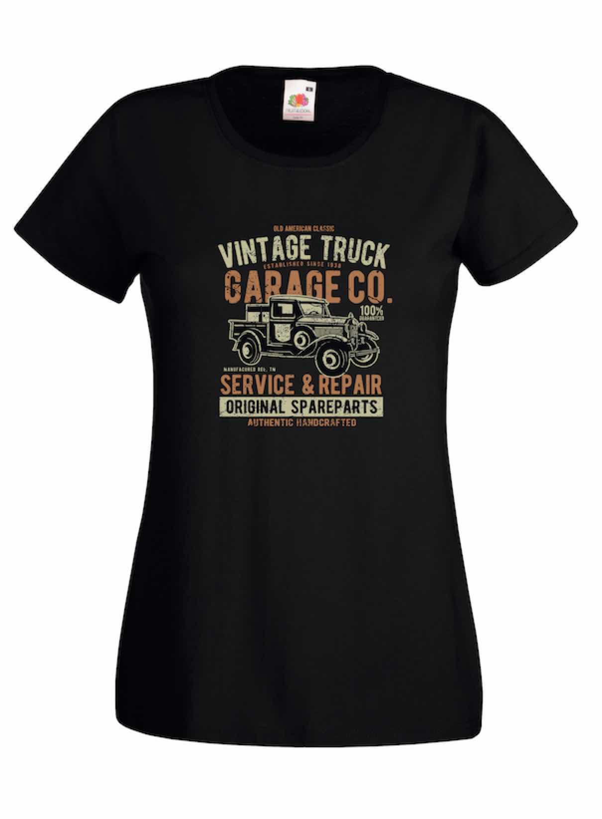 Vintage Truck design for t-shirt, hoodie & sweatshirt