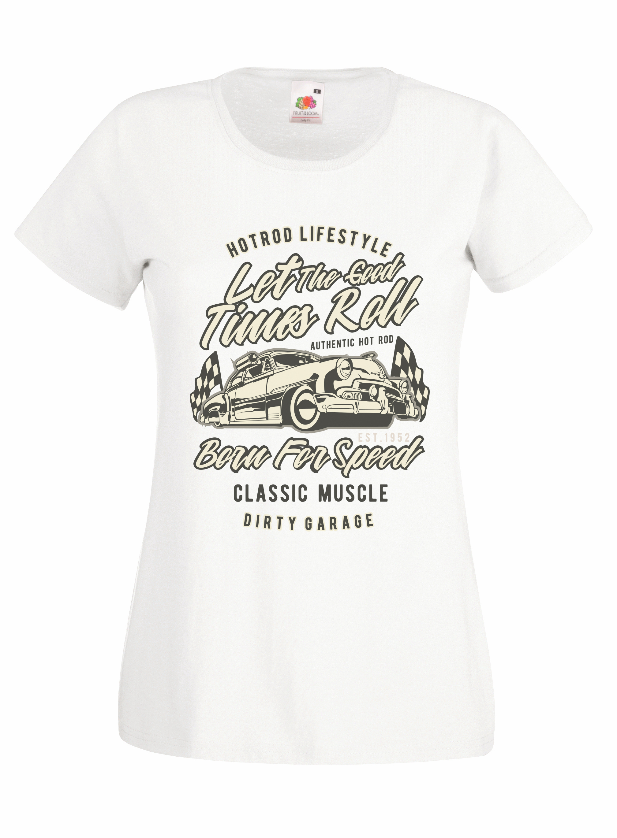 Let The Good Times Roll design for t-shirt, hoodie & sweatshirt