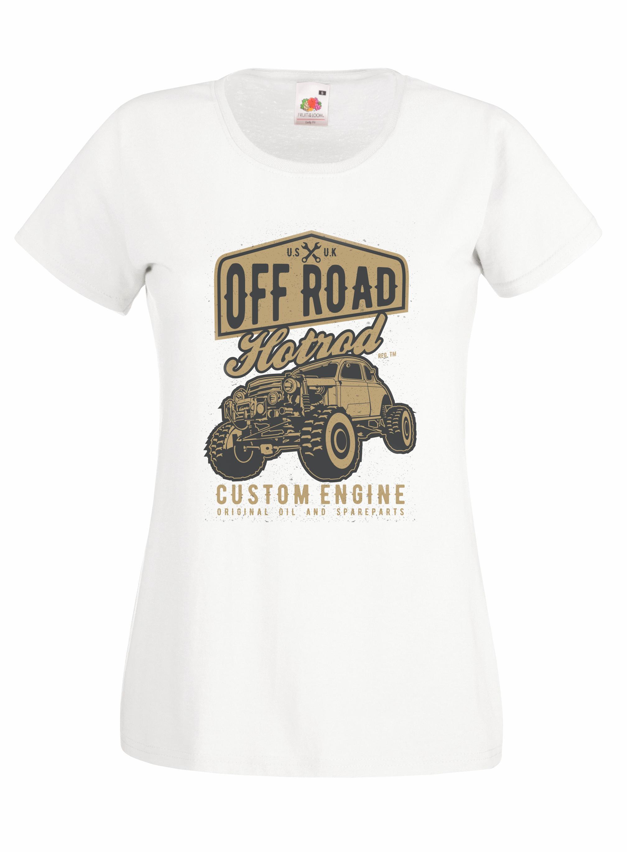 Off Road Hotrod design for t-shirt, hoodie & sweatshirt