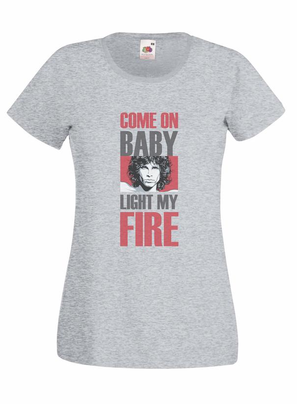 Light My Fire design for t-shirt, hoodie & sweatshirt