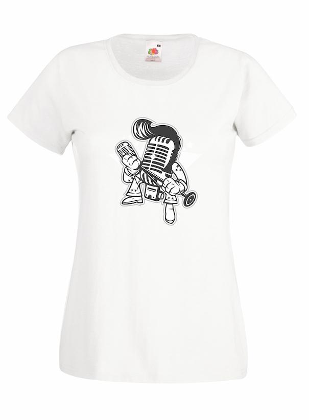 Microphone King design for t-shirt, hoodie & sweatshirt