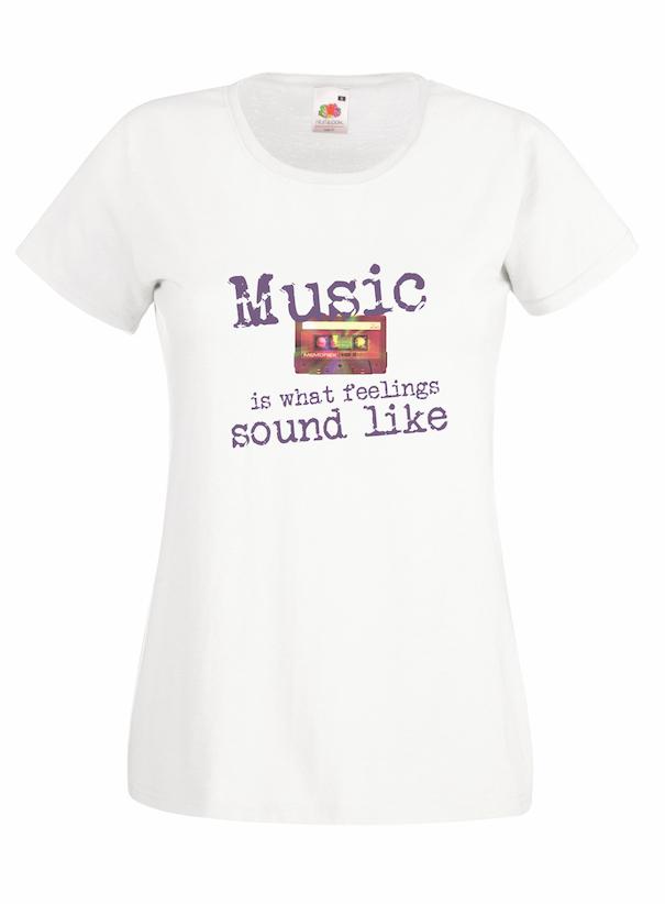 Music Is What design for t-shirt, hoodie & sweatshirt