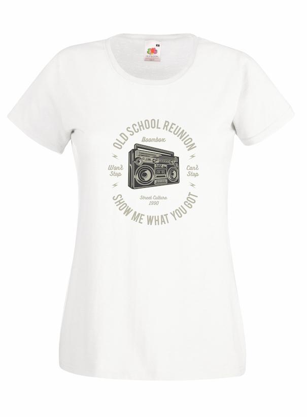Old School Boombox design for t-shirt, hoodie & sweatshirt