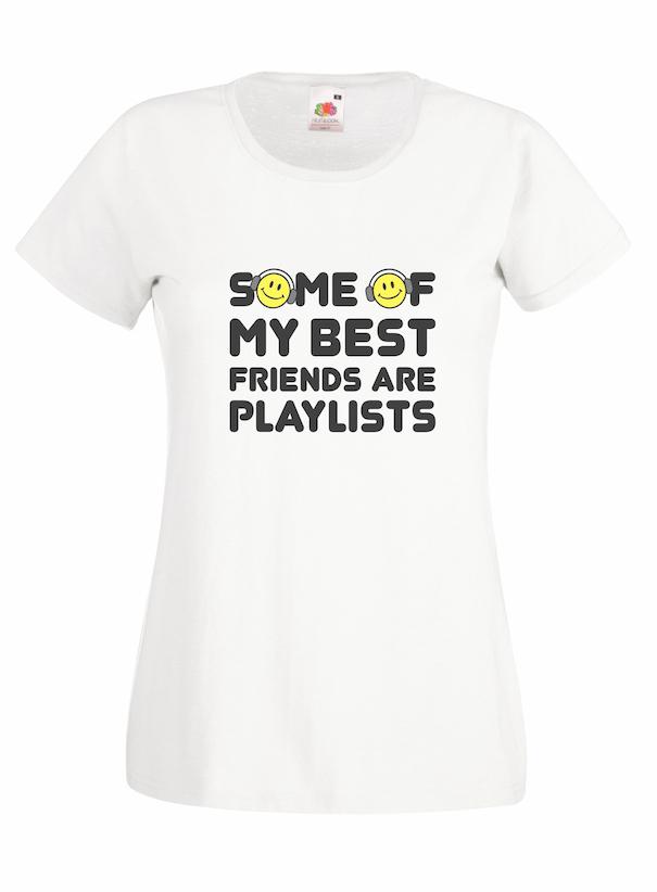 Playlists design for t-shirt, hoodie & sweatshirt