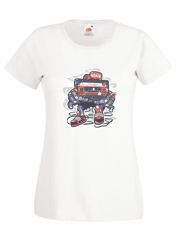 Zombie Cassette design for t-shirt, hoodie & sweatshirt