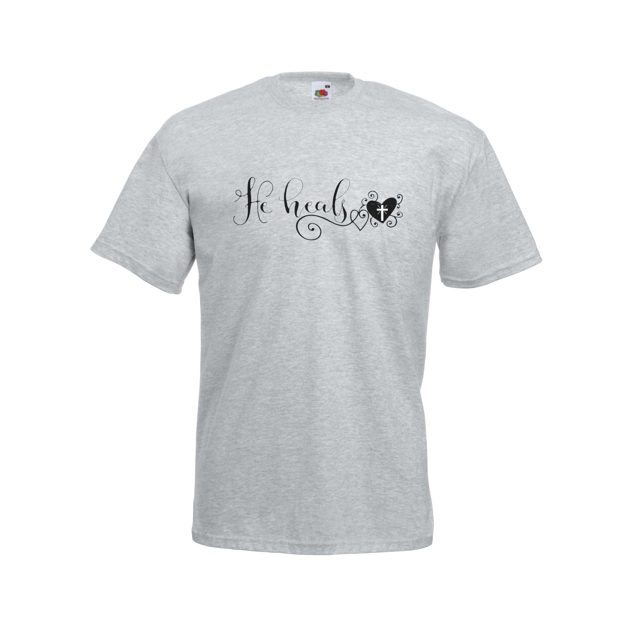 Heart Healed design for t-shirt, hoodie & sweatshirt