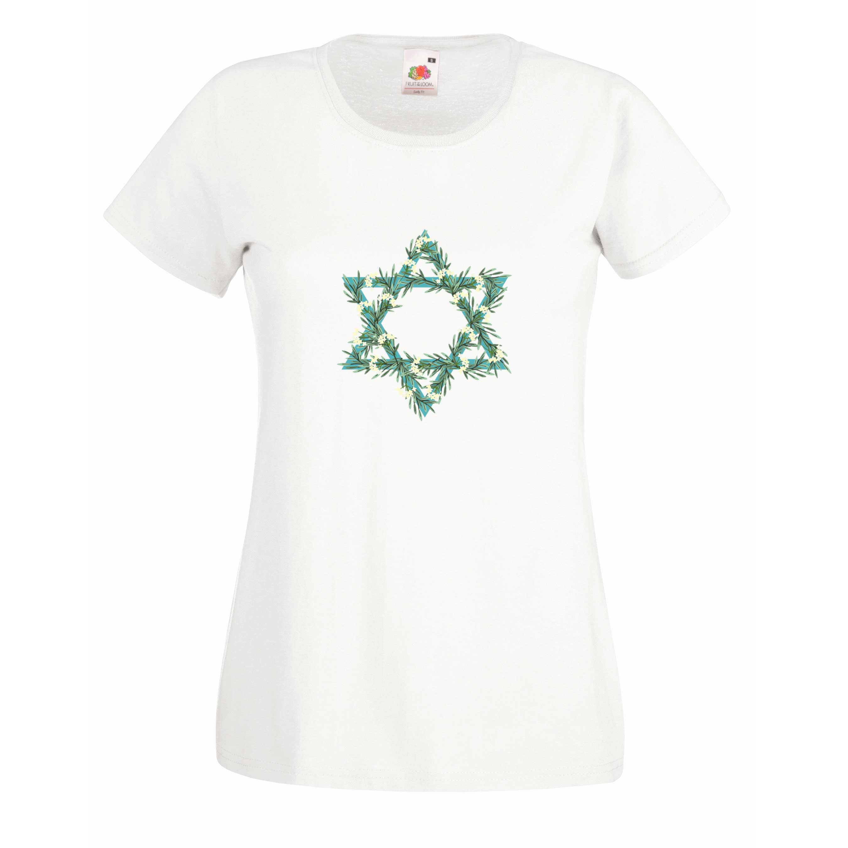Floral Star design for t-shirt, hoodie & sweatshirt