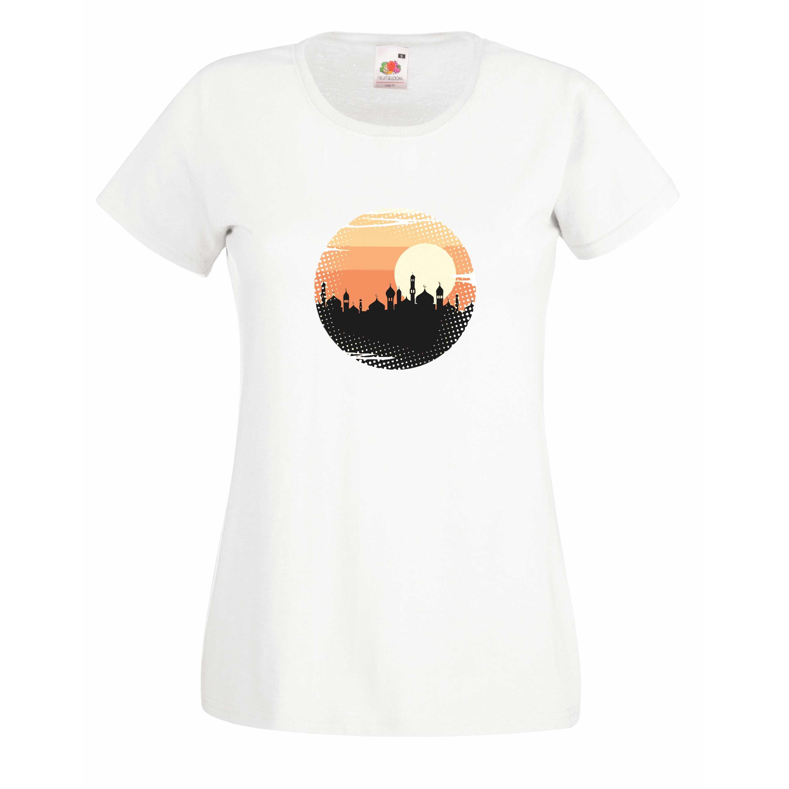 Mosque design for t-shirt, hoodie & sweatshirt