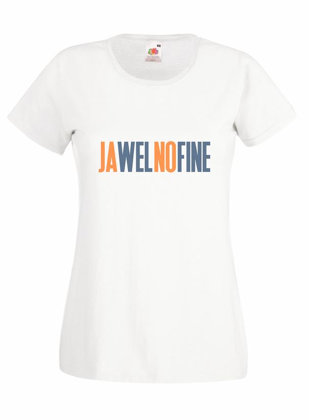 Jawelnofine design for t-shirt, hoodie & sweatshirt