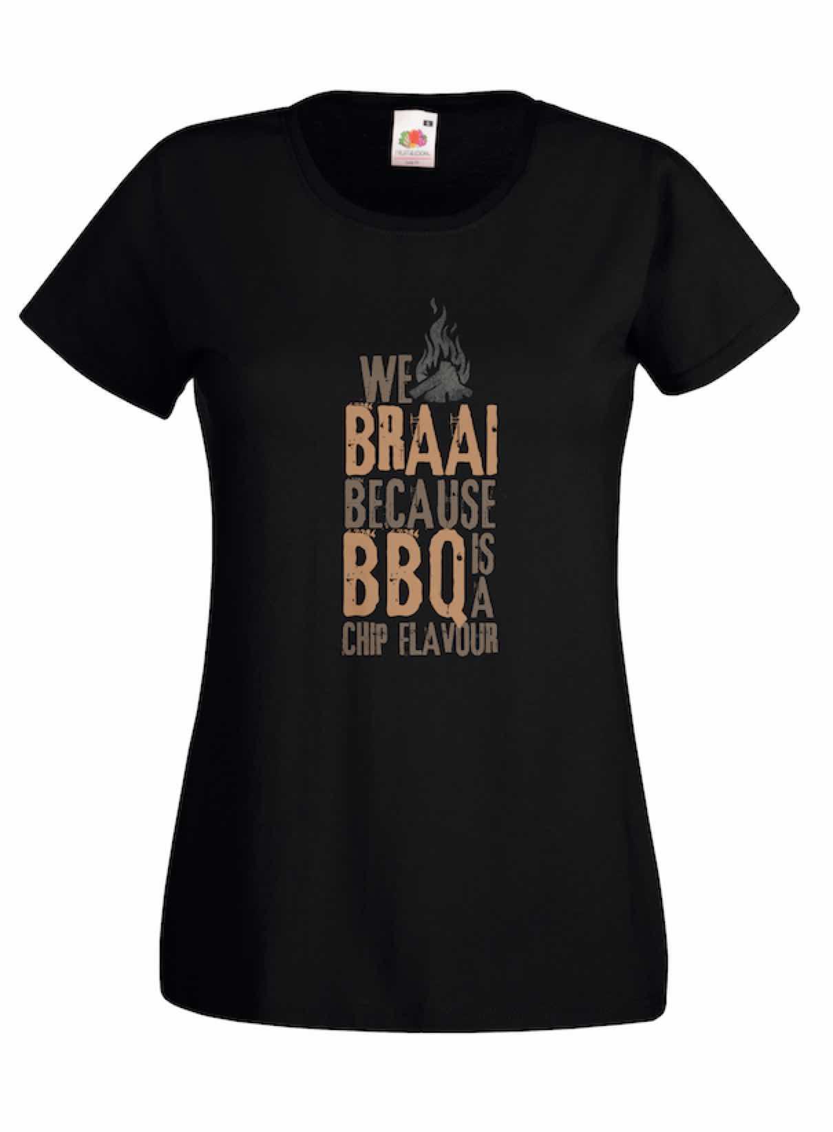 We Braai design for t-shirt, hoodie & sweatshirt