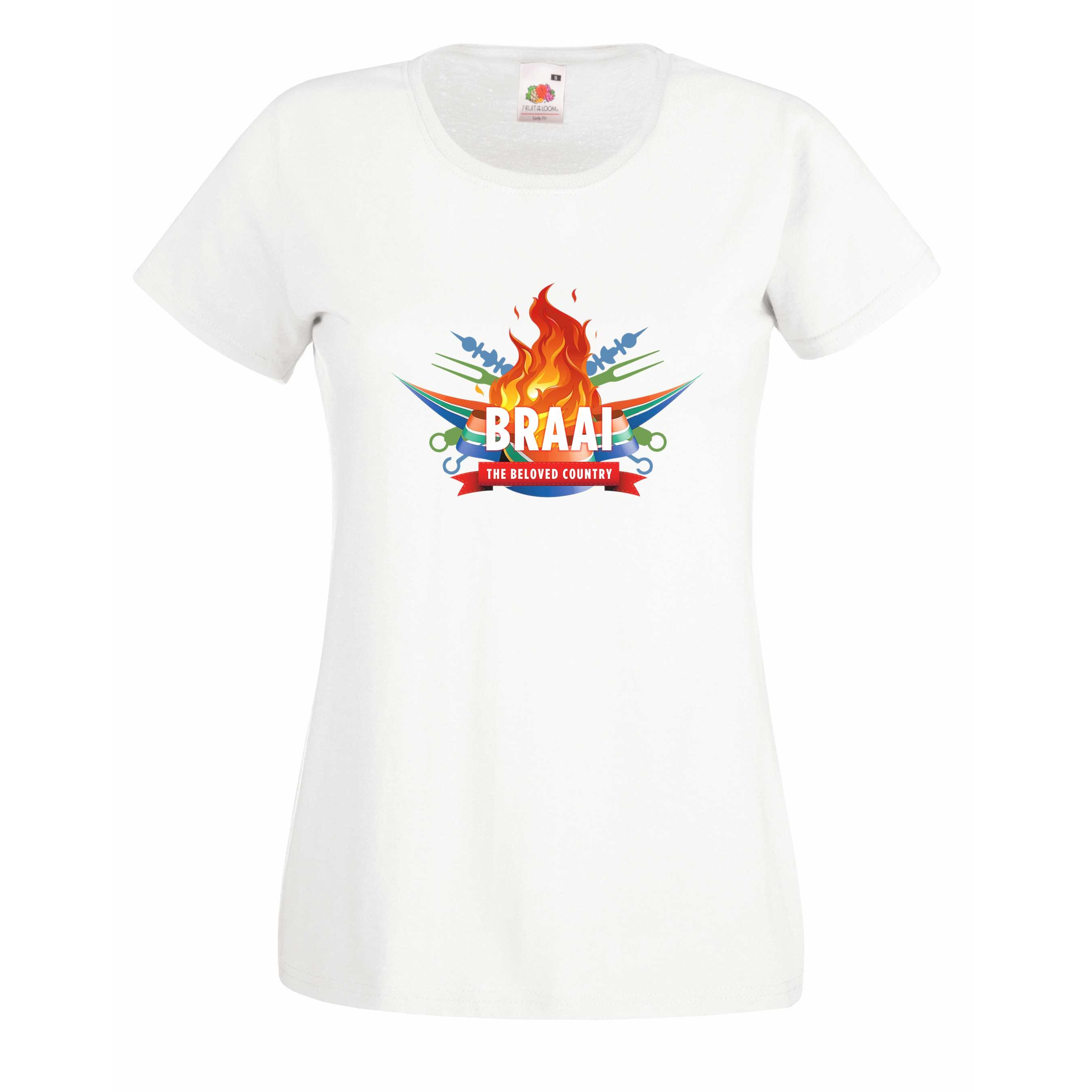 Braai SA design for t-shirt, hoodie & sweatshirt