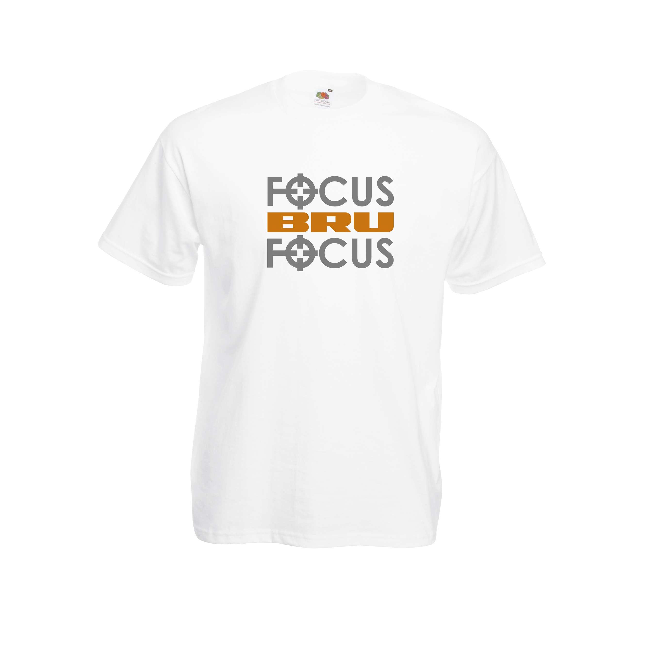 Focus bru design for t-shirt, hoodie & sweatshirt