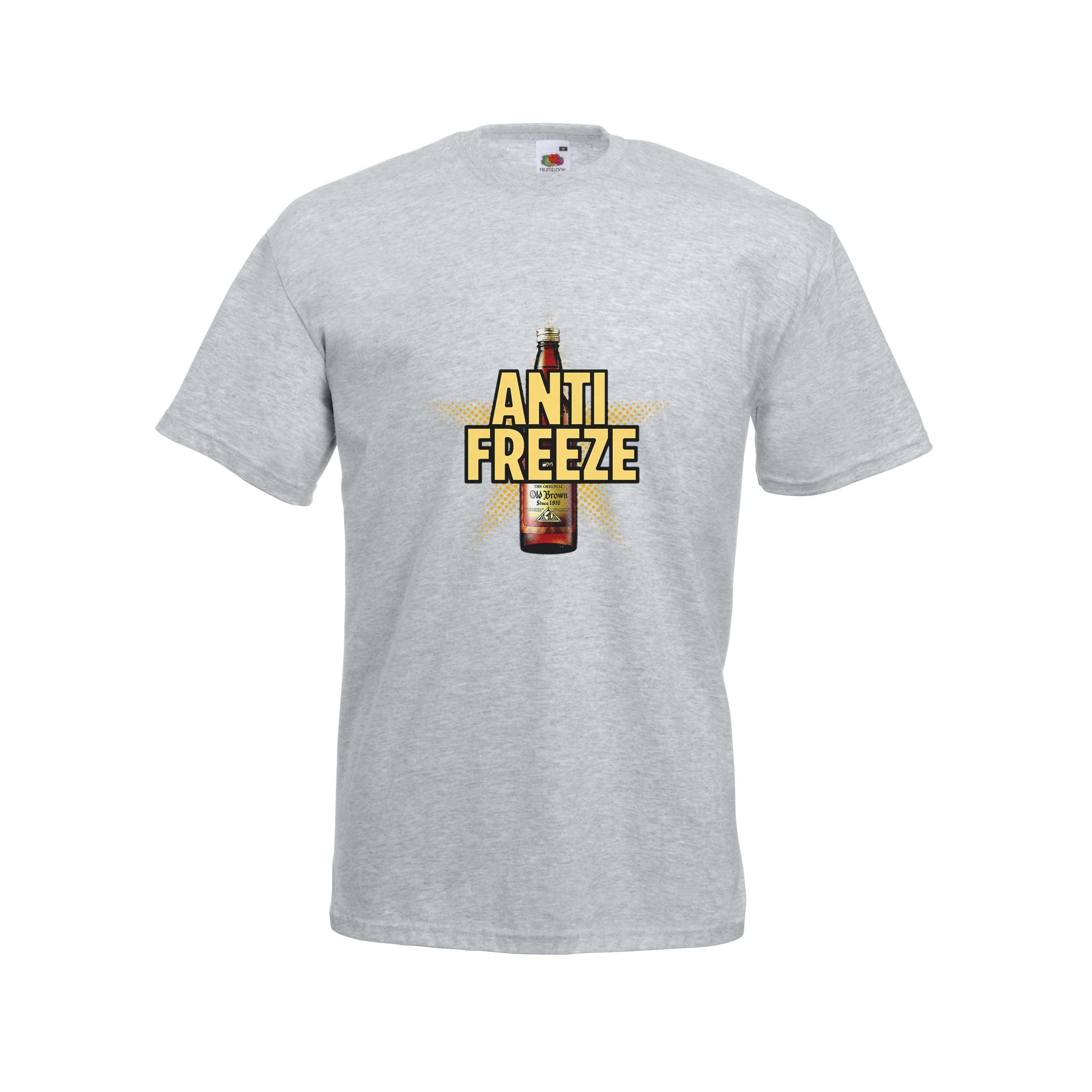 Anti-freeze design for t-shirt, hoodie & sweatshirt