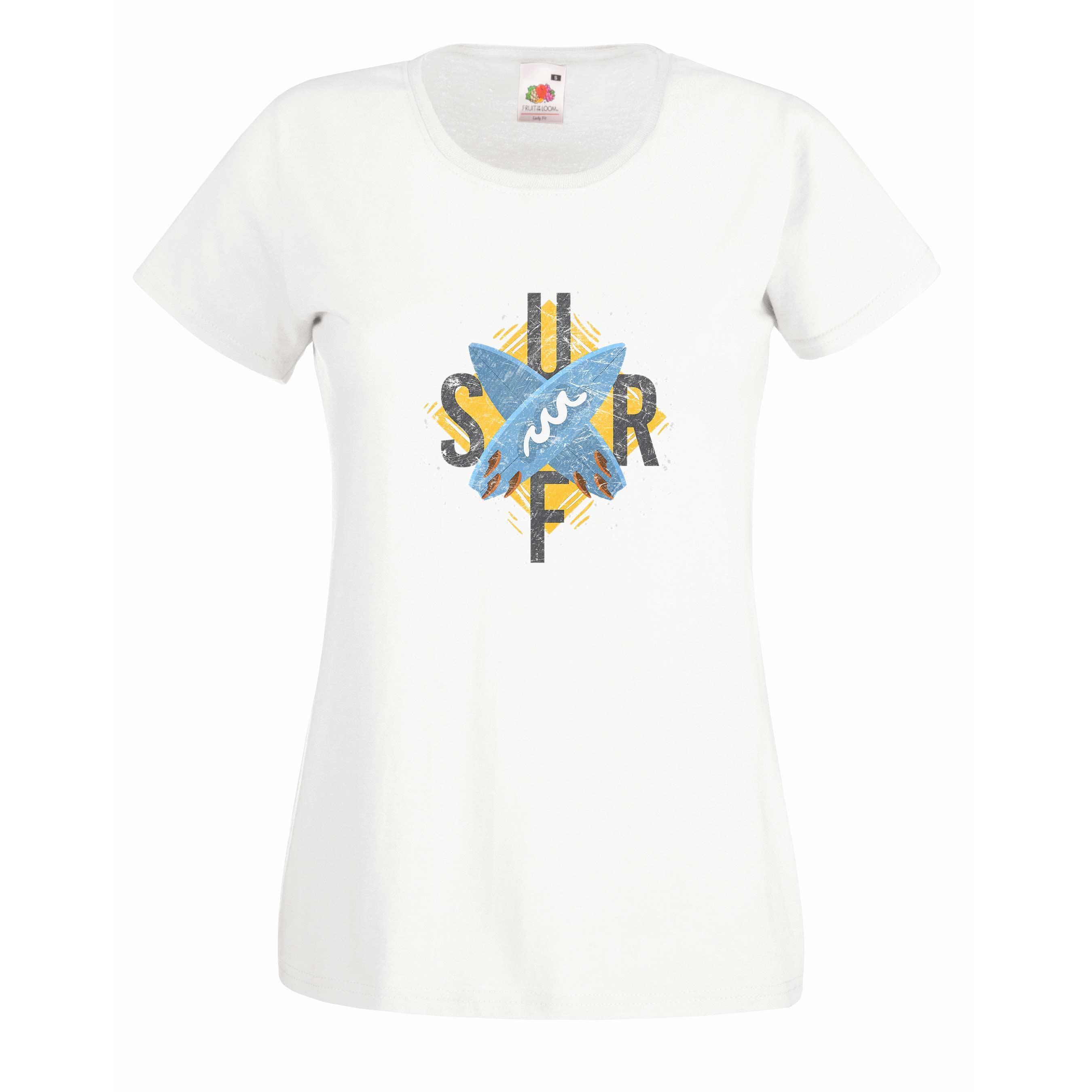 Cross Surfboards design for t-shirt, hoodie & sweatshirt