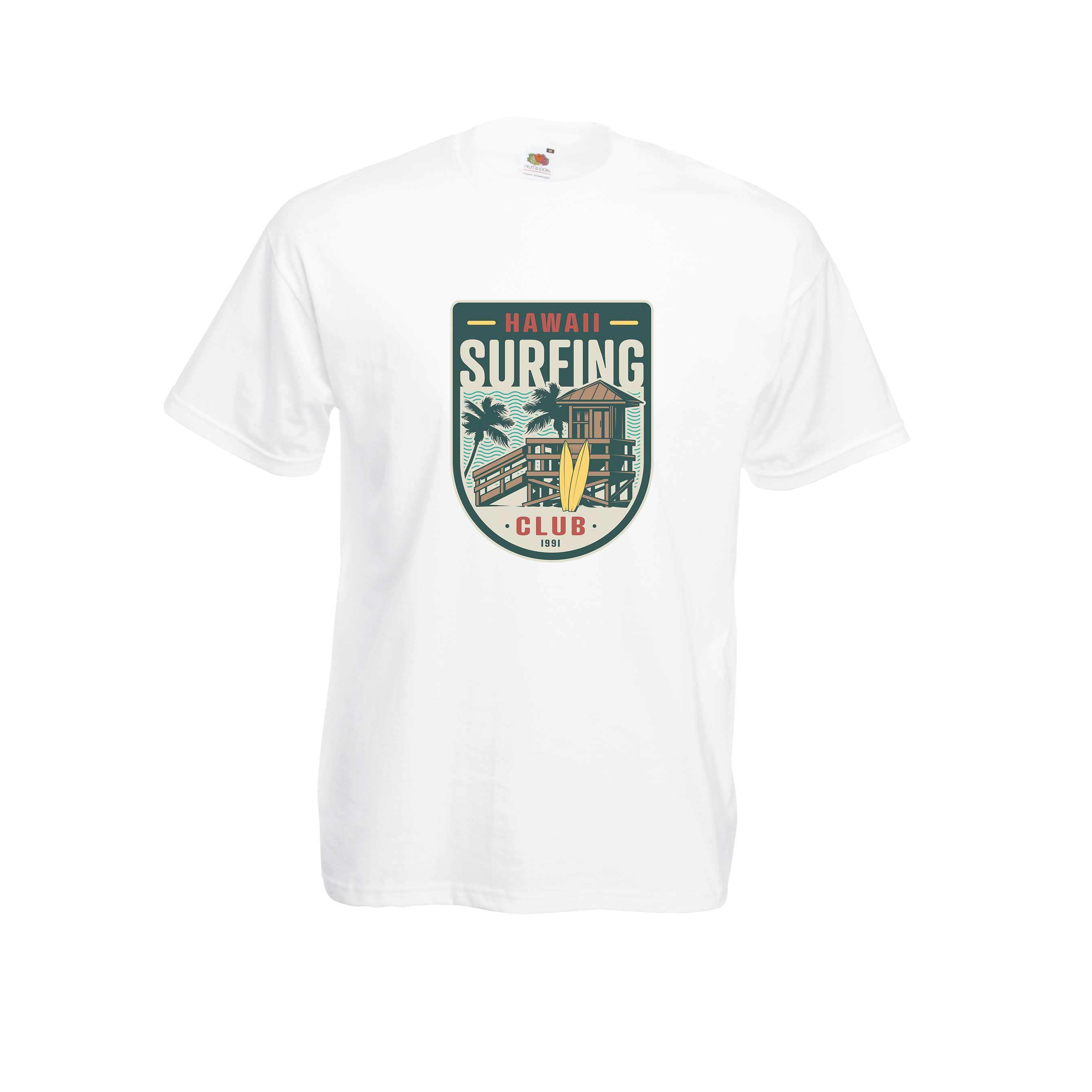 Hawaii Club design for t-shirt, hoodie & sweatshirt
