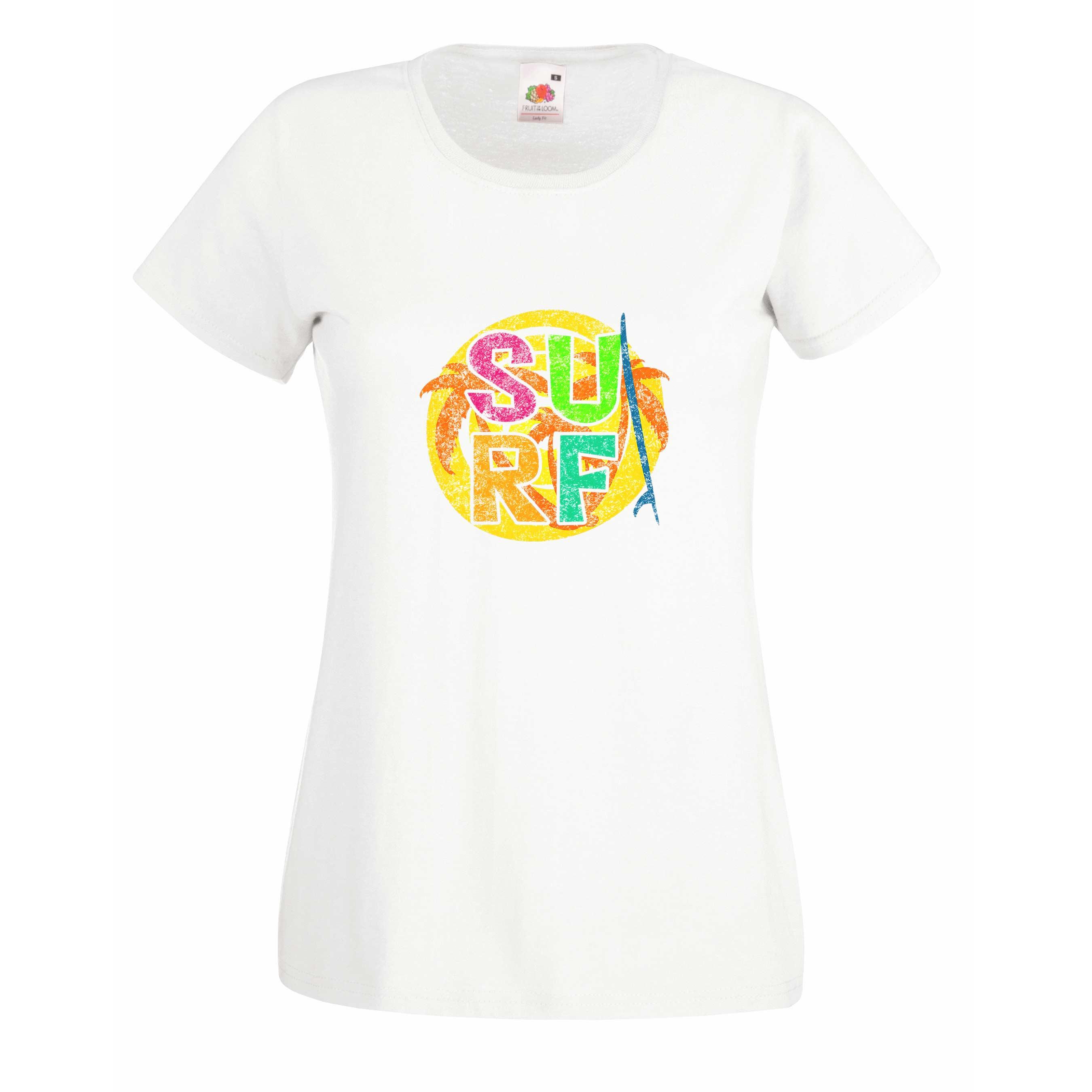 Surf Circle design for t-shirt, hoodie & sweatshirt