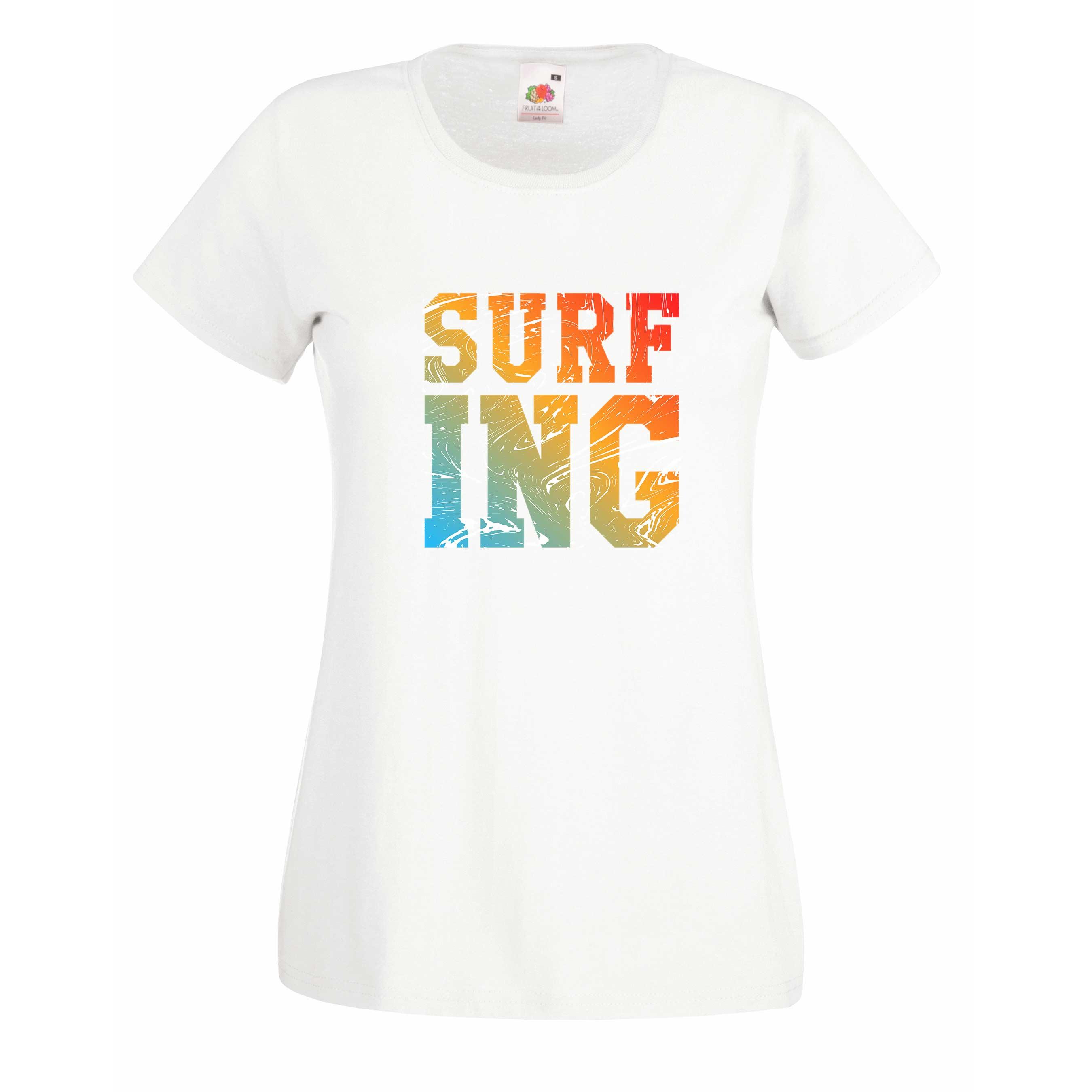Surf-ing design for t-shirt, hoodie & sweatshirt