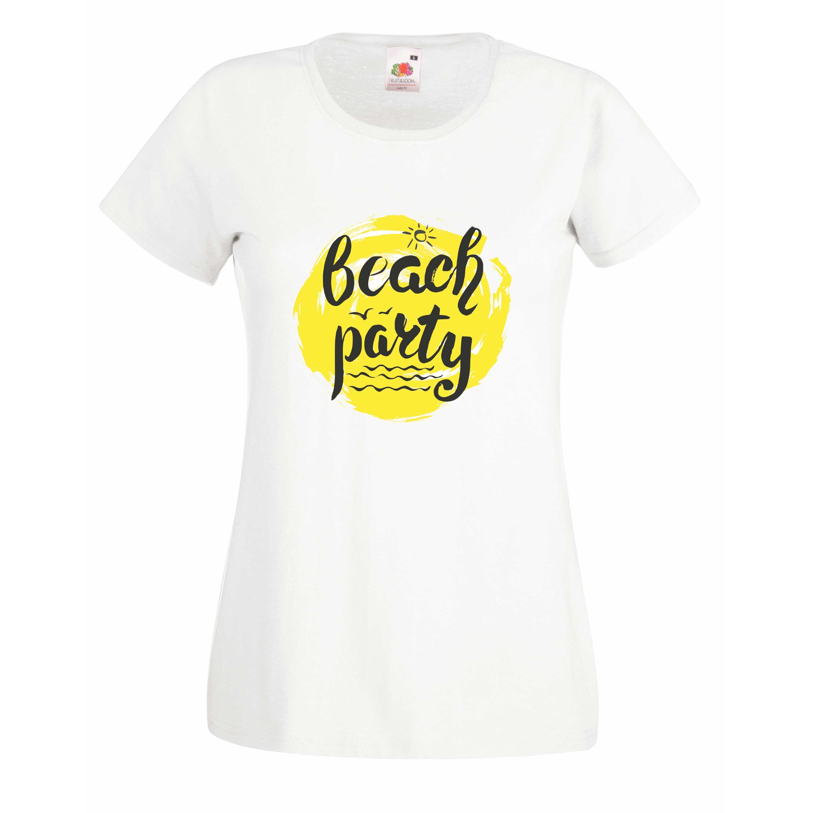 Beach Party design for t-shirt, hoodie & sweatshirt