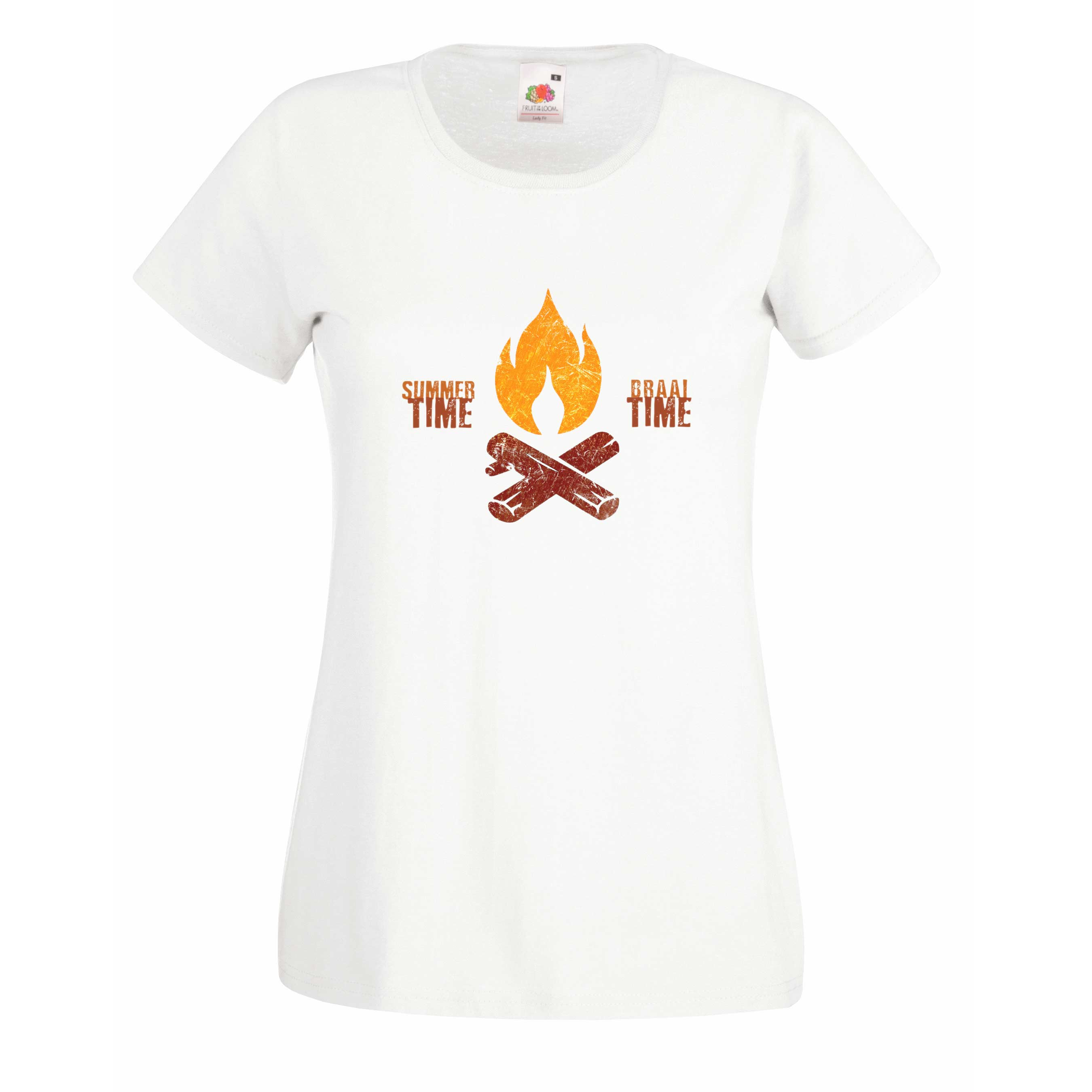 Braai Time design for t-shirt, hoodie & sweatshirt