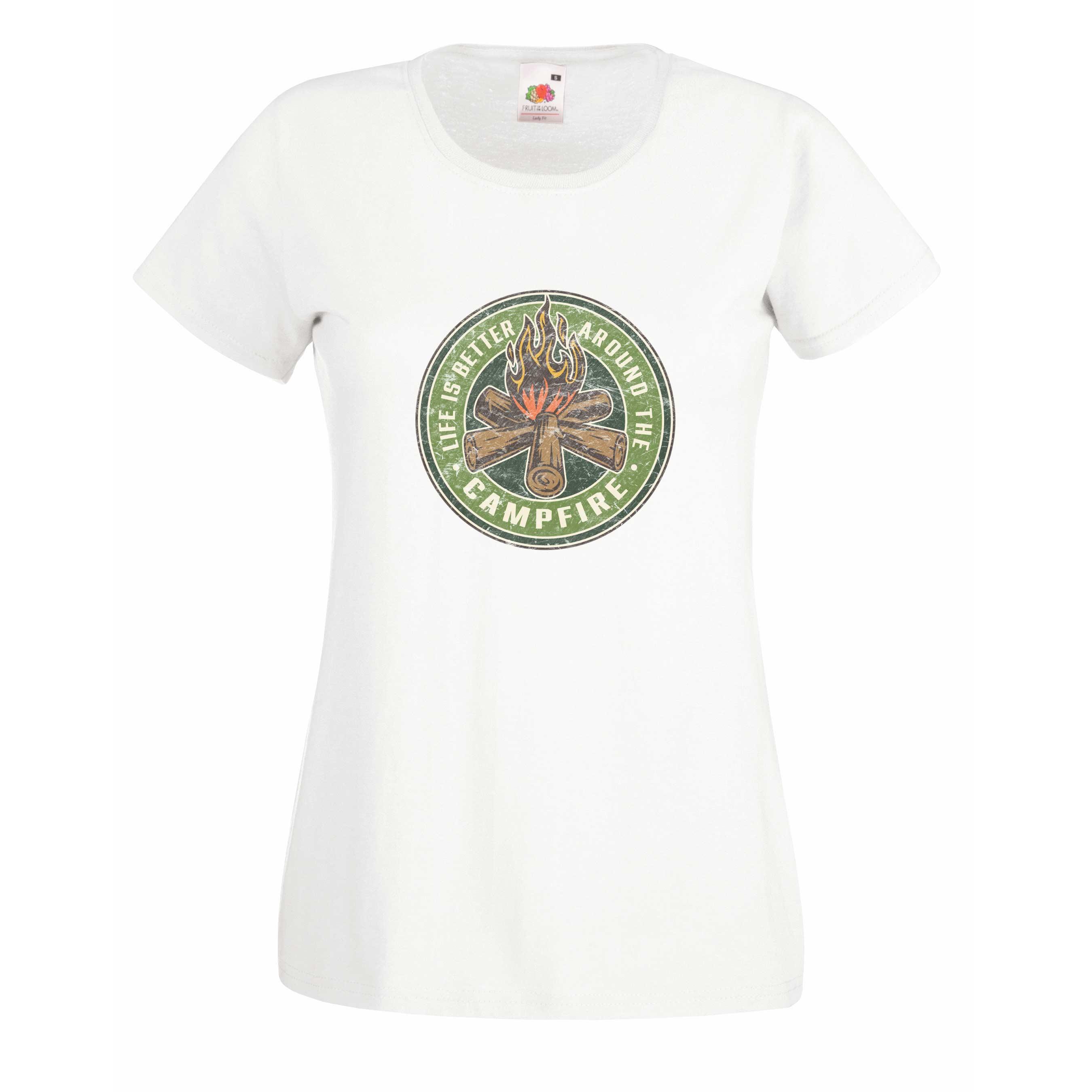 Campfire design for t-shirt, hoodie & sweatshirt