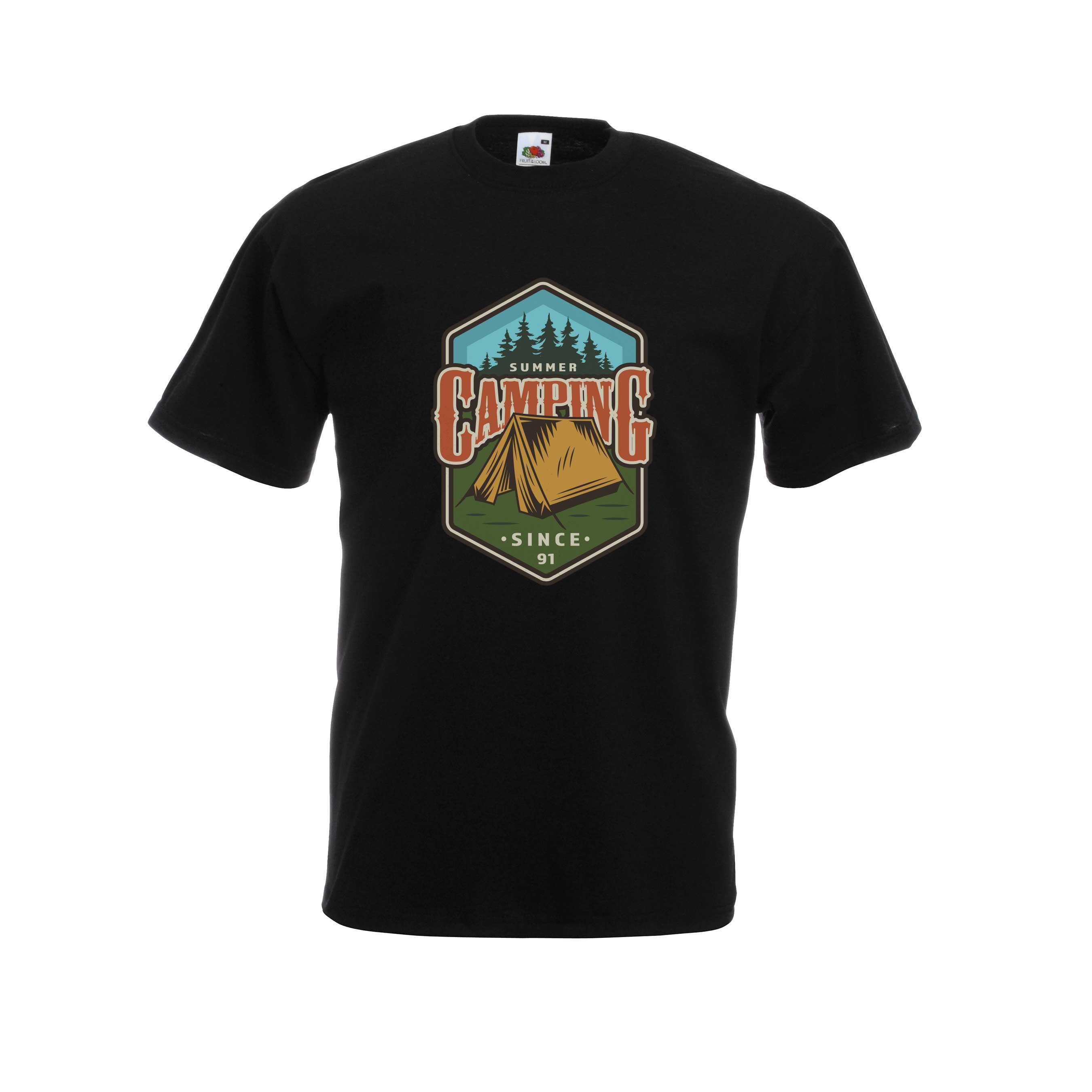 Camping design for t-shirt, hoodie & sweatshirt
