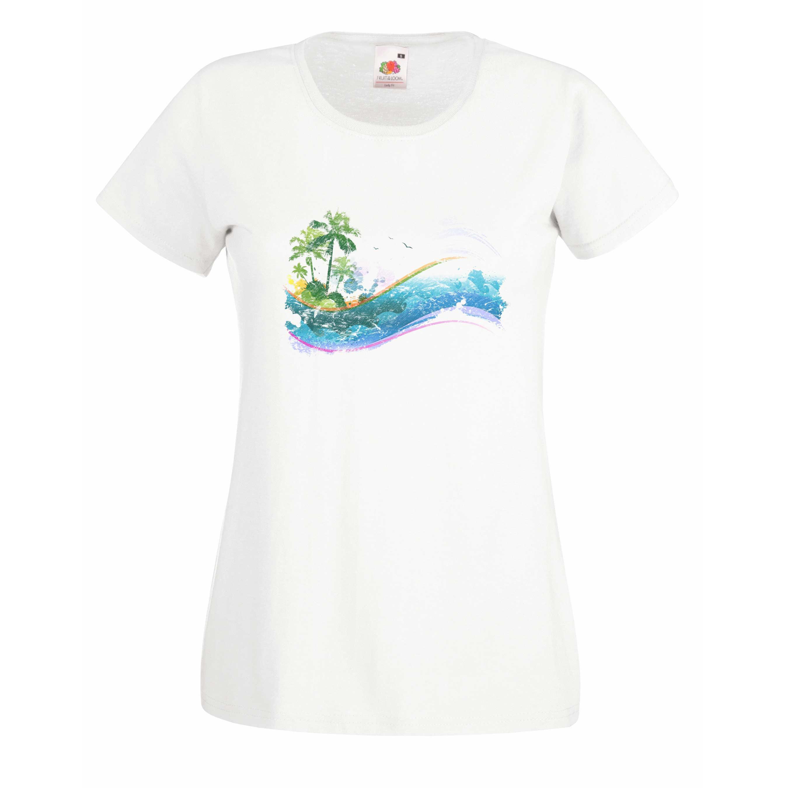Paradise design for t-shirt, hoodie & sweatshirt