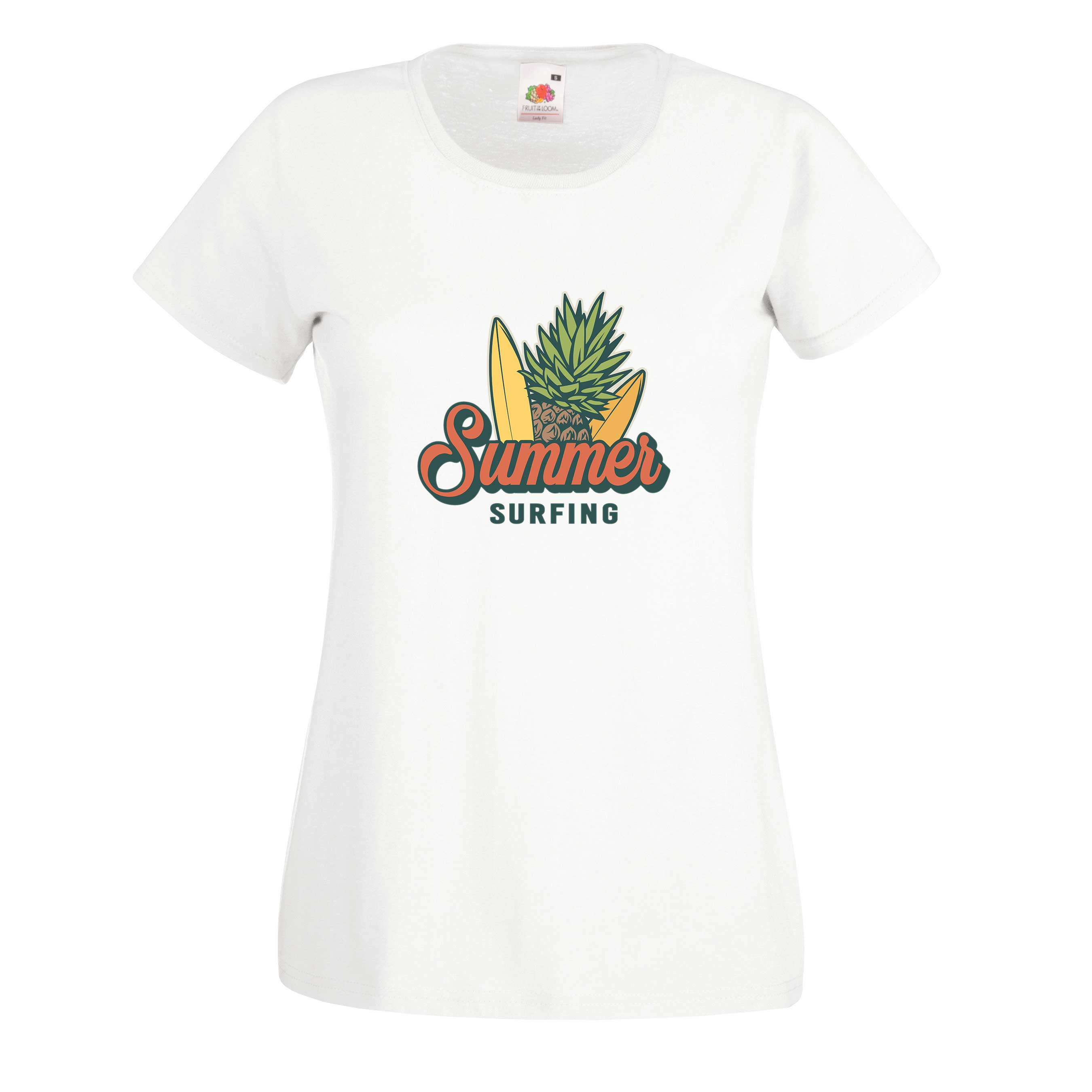 Summer Surfing design for t-shirt, hoodie & sweatshirt