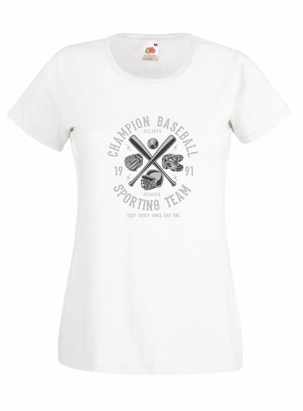 Champion Baseball design for t-shirt, hoodie & sweatshirt