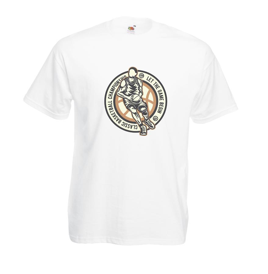 Classic Basketball design for t-shirt, hoodie & sweatshirt